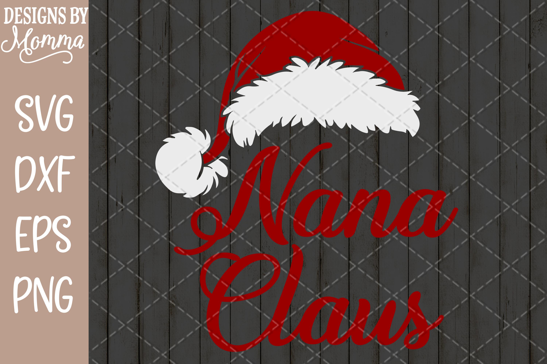 Nana Claus SVG example image 2