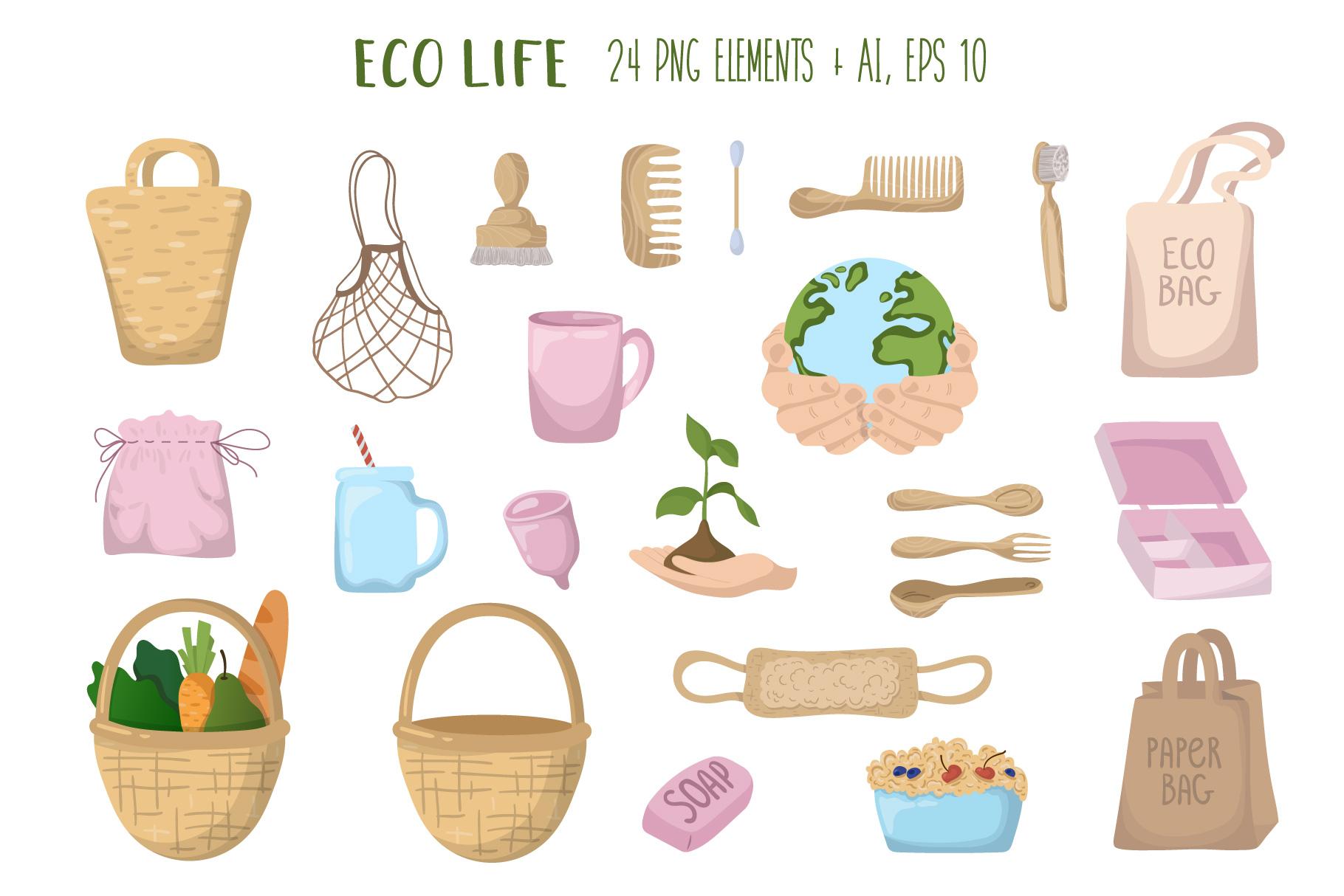 Zero Waste - Vector Collection example image 2