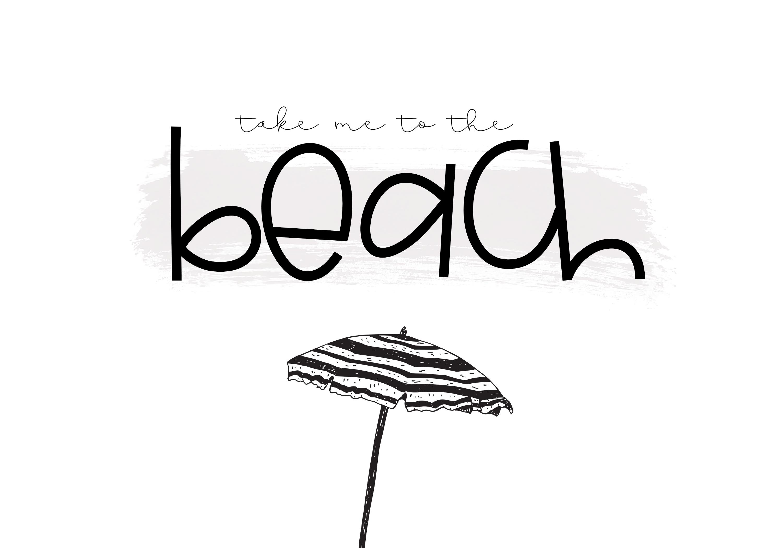 Seashore - A Fun Handwritten Font example image 6