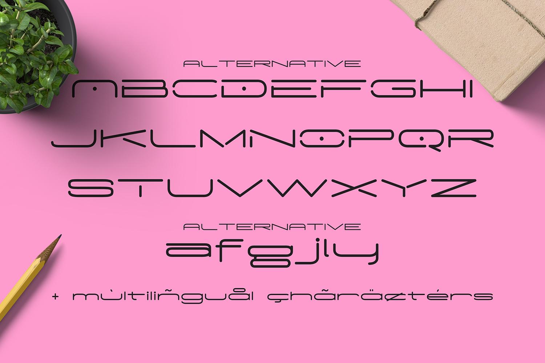 Madeleine Typeface example image 3