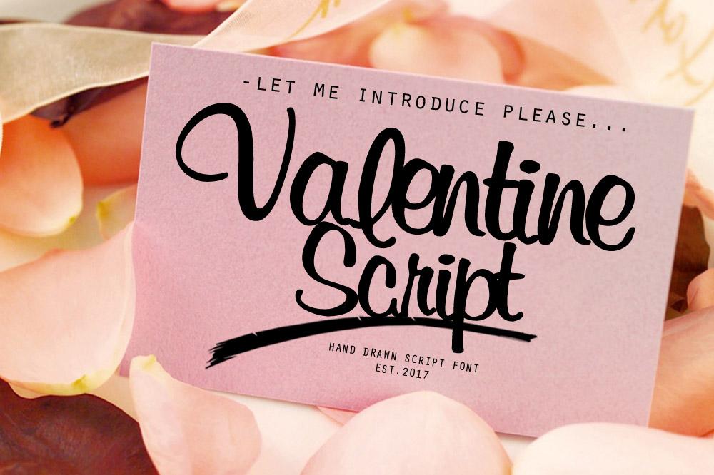 valentine script example image 1