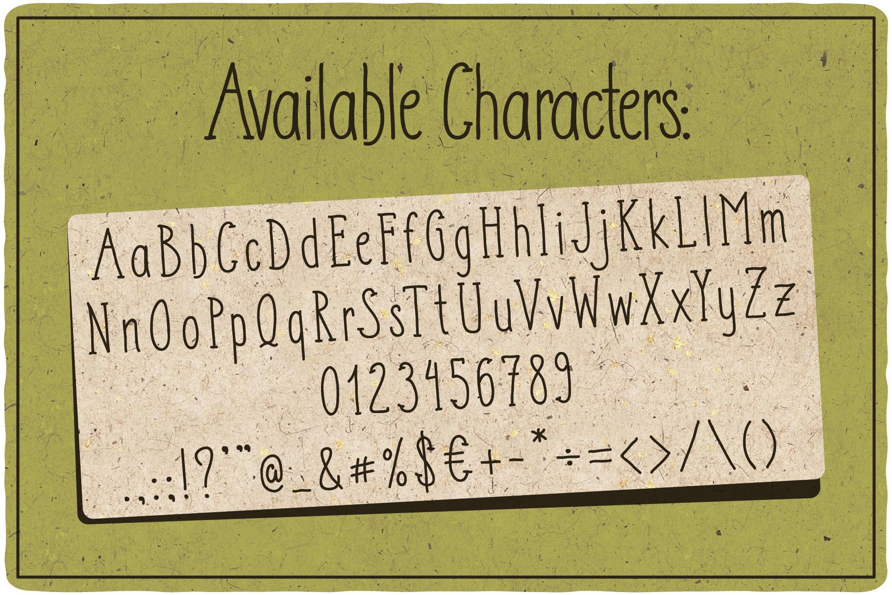 Adventure Typeface plus bonus graphics example image 2