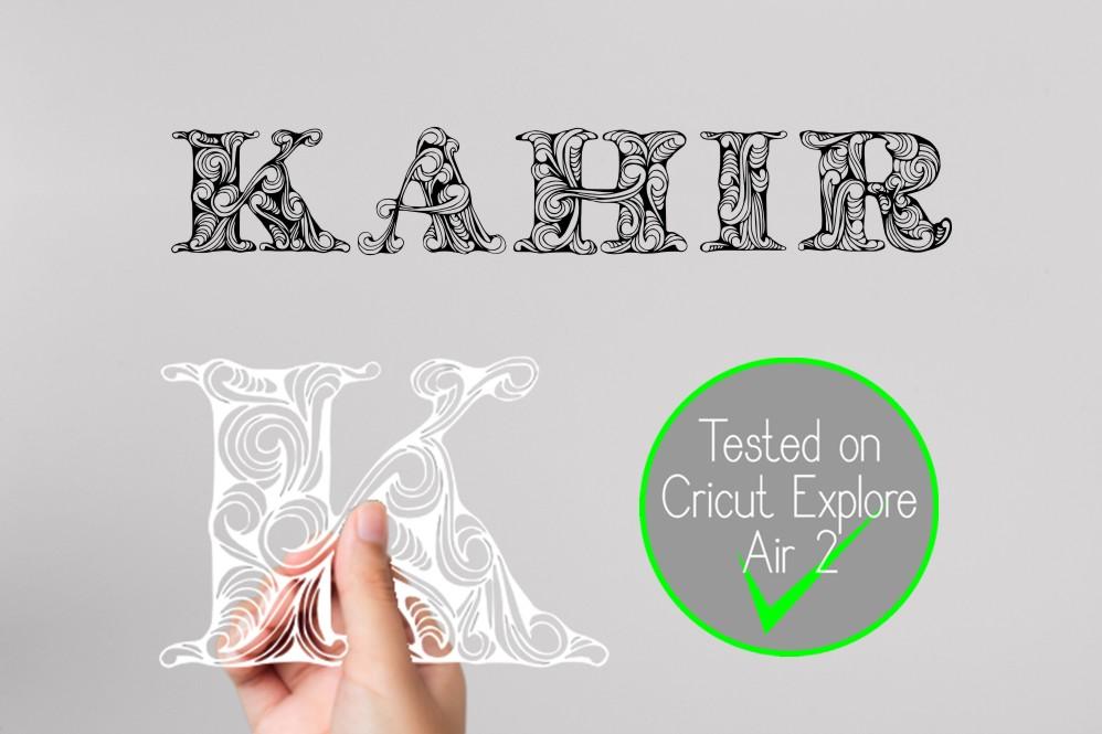 Kahir Font example image 7