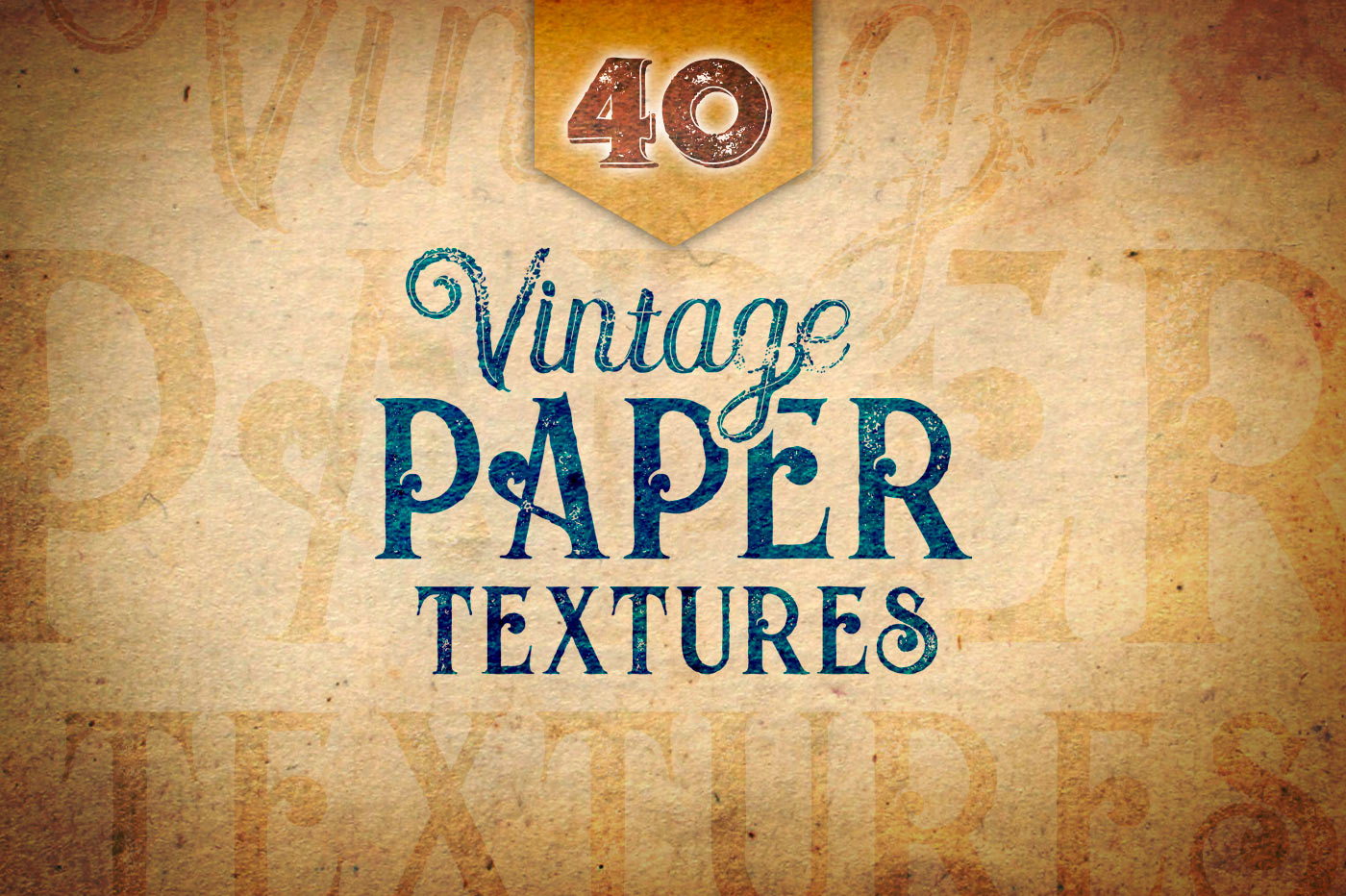 40 Vintage Paper Textures example image 1