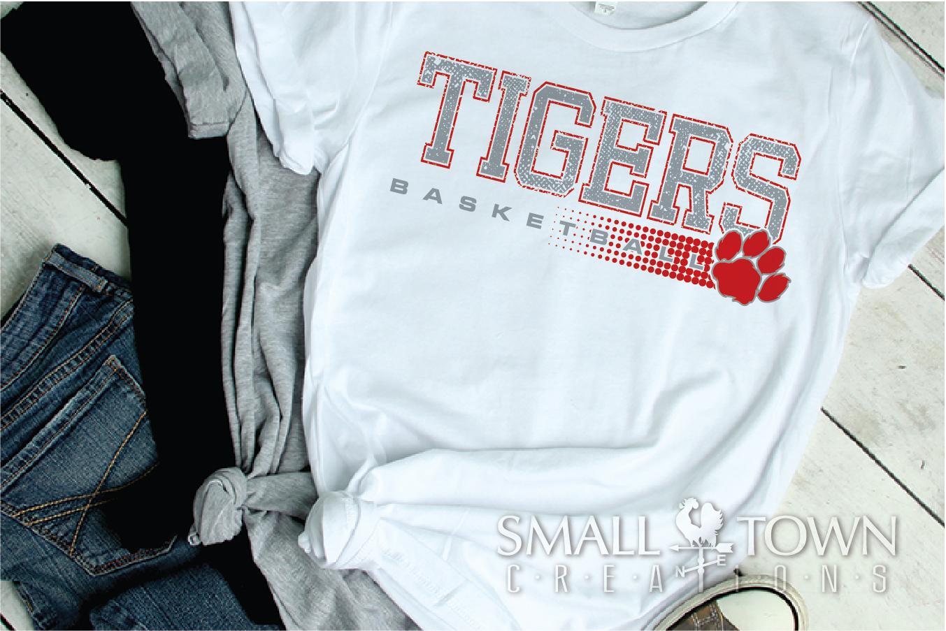 Tigers basketball, tiger mascot, team, PRINT, CUT, DESIGN example image 13