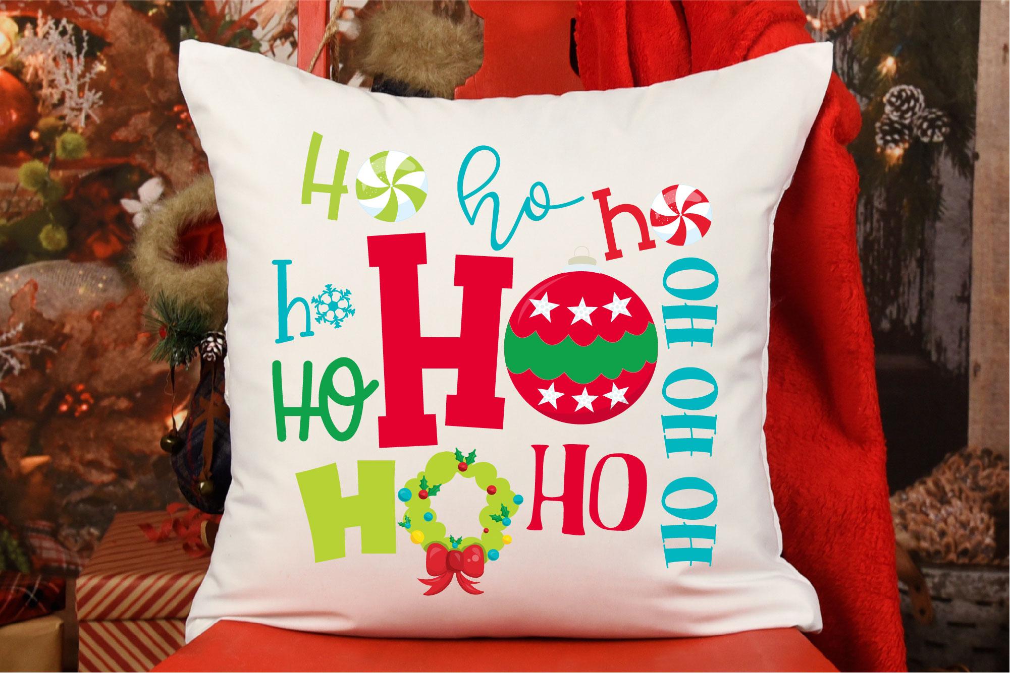 Christmas SVG, Santa Christmas Bundle, Ho Ho Ho Sublimation example image 11