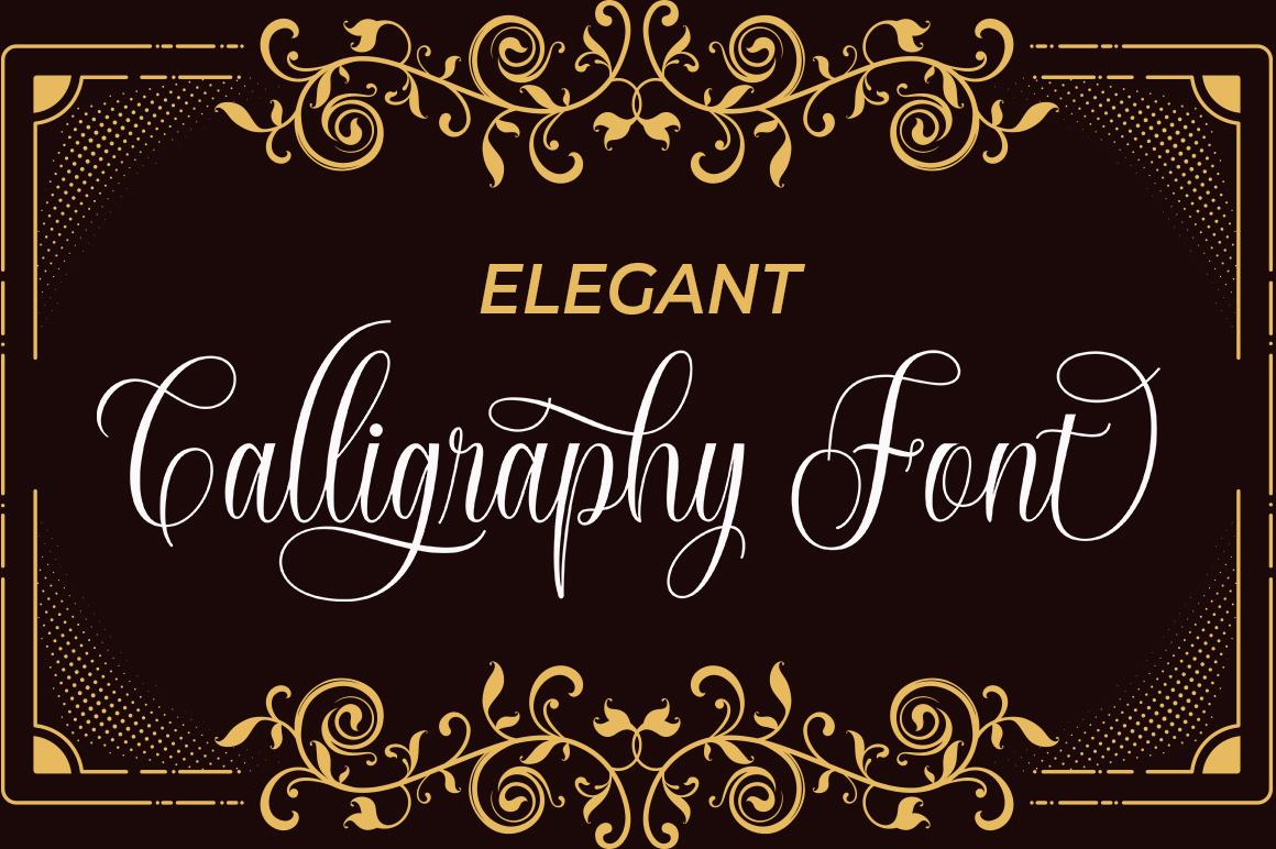Calington Script example image 6