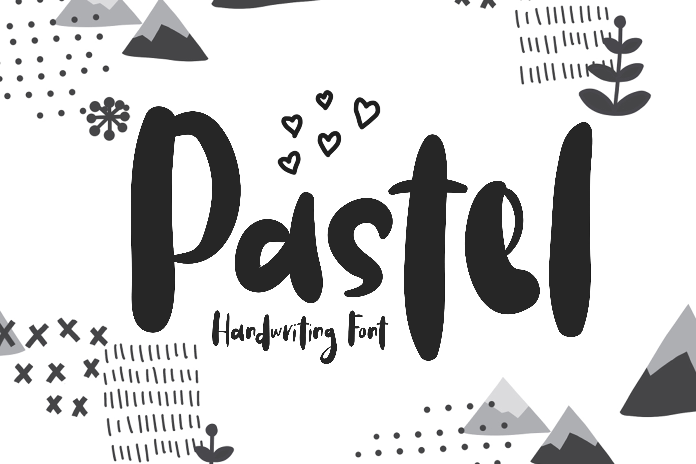 Pastel | Handwriting Font example image 1