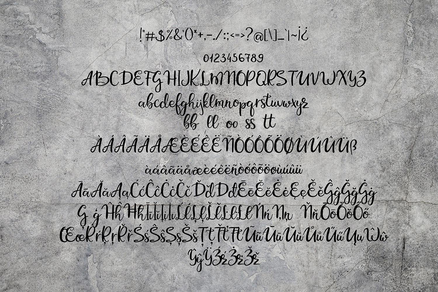 Rock N Roll Beach Font Duo example image 8