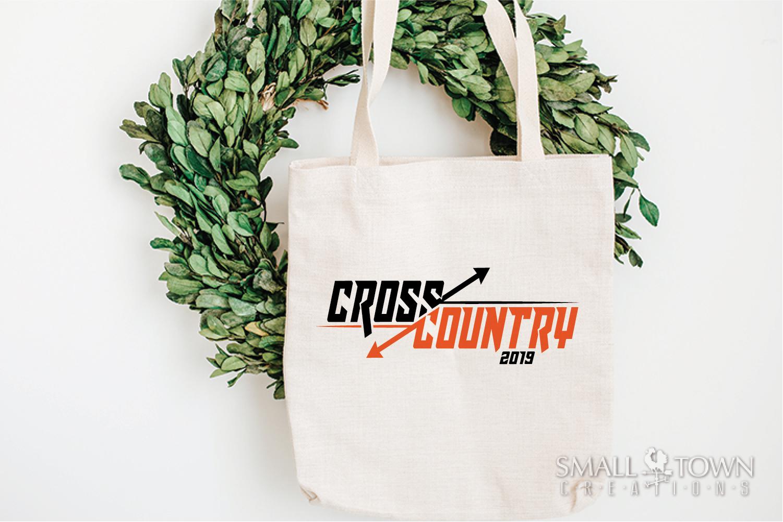 Cross Country, Running logo, Team, PRINT, CUT & DESIGN example image 4