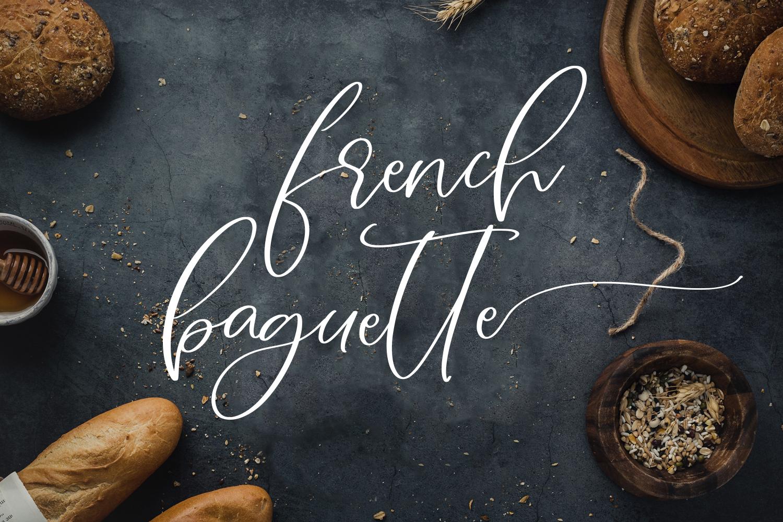 Figs Pie Script Font example image 7