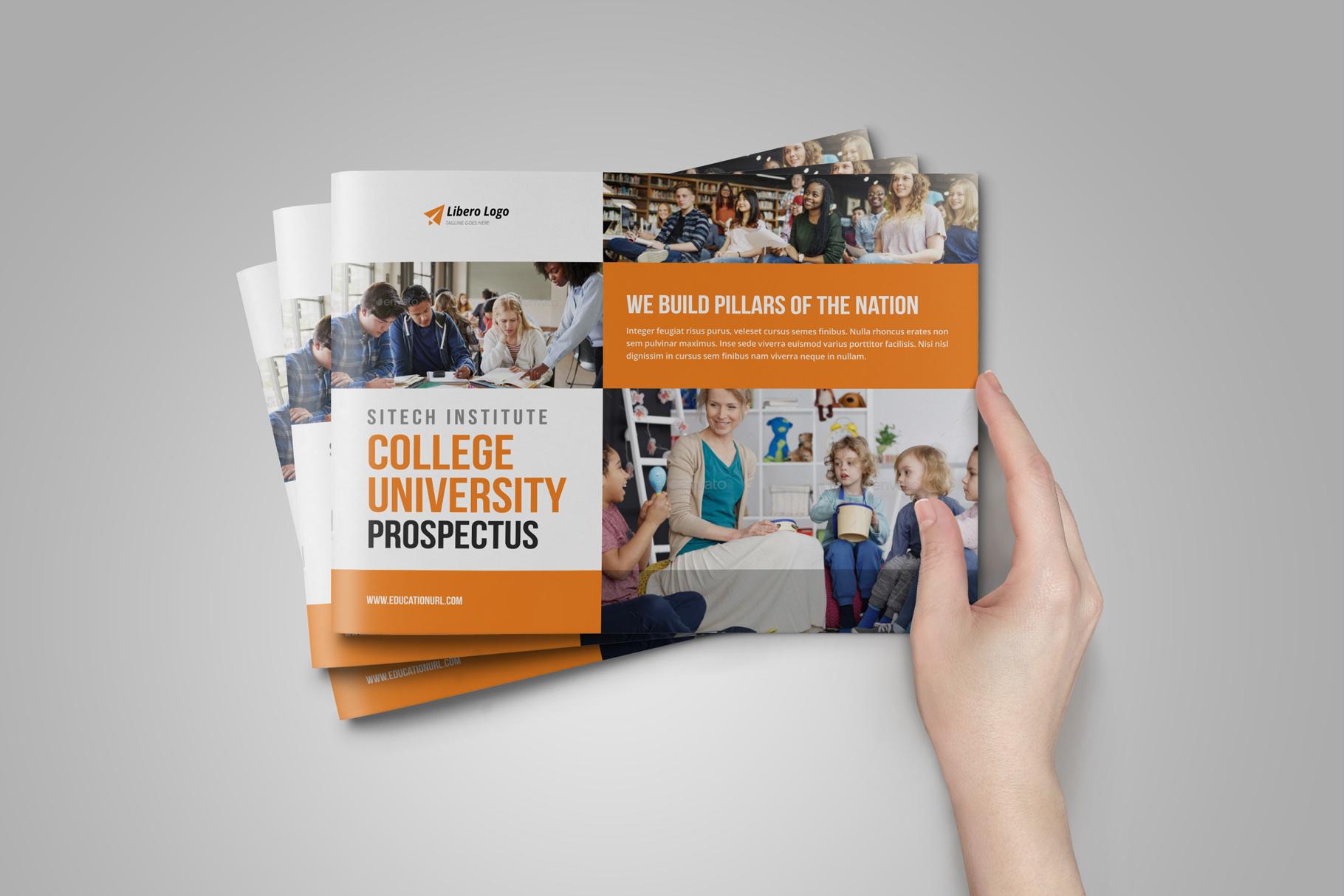 Education Prospectus Brochure v8 example image 2
