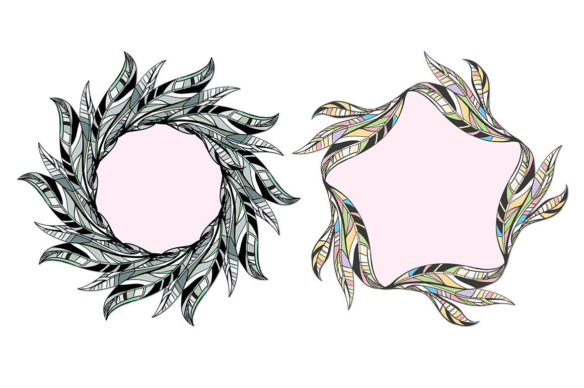 LEAVES vector collection. example image 7