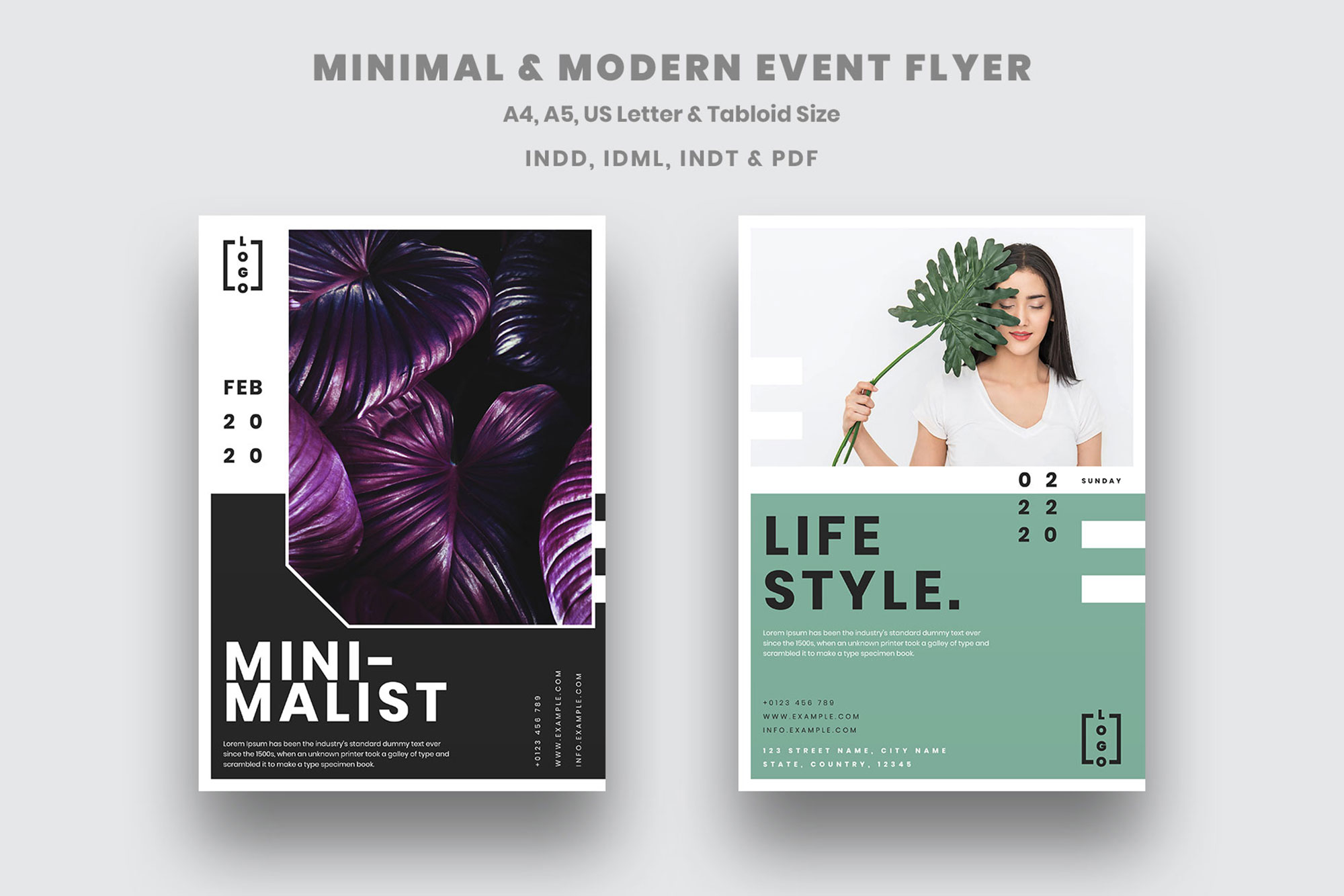 Event Flyer Vol.01 example image 1