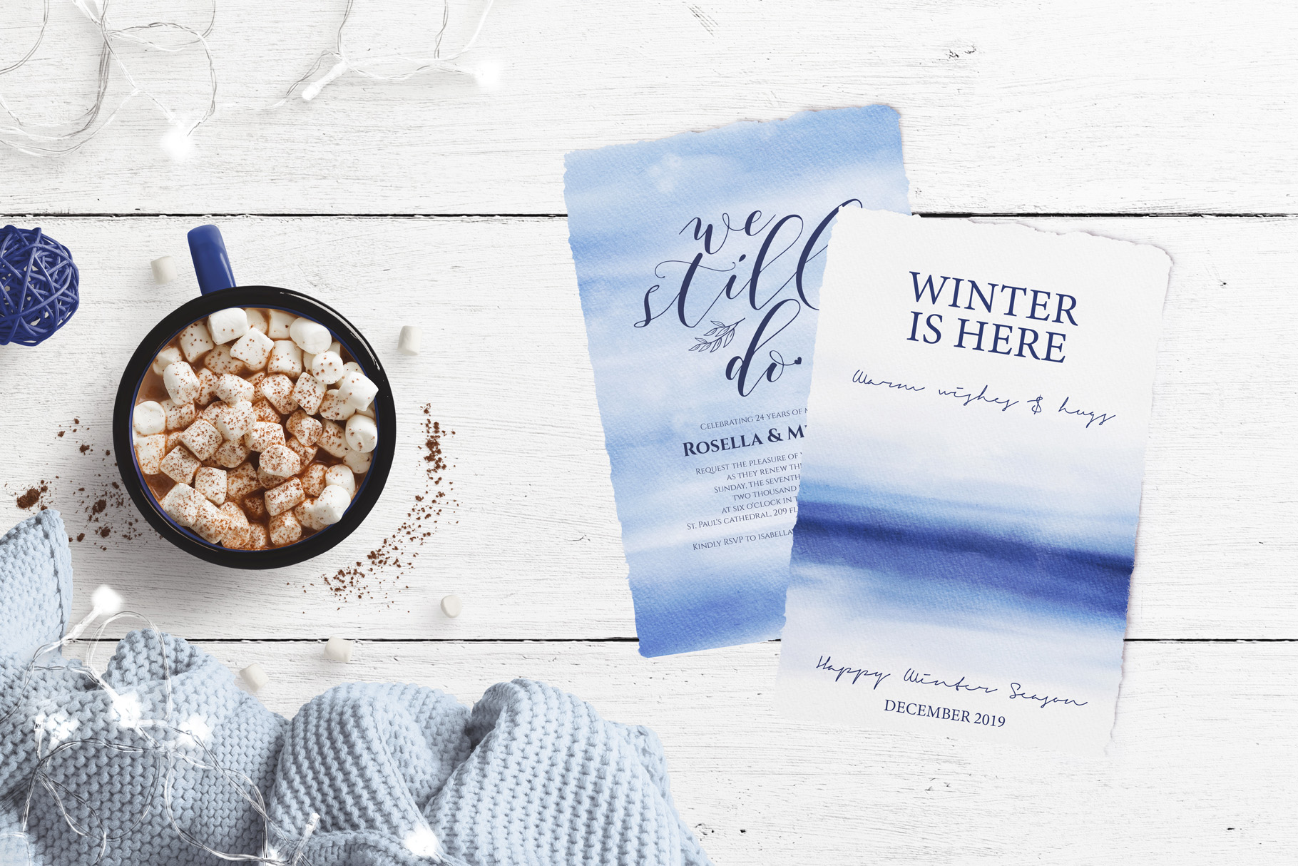 Winter Backgrounds example image 3