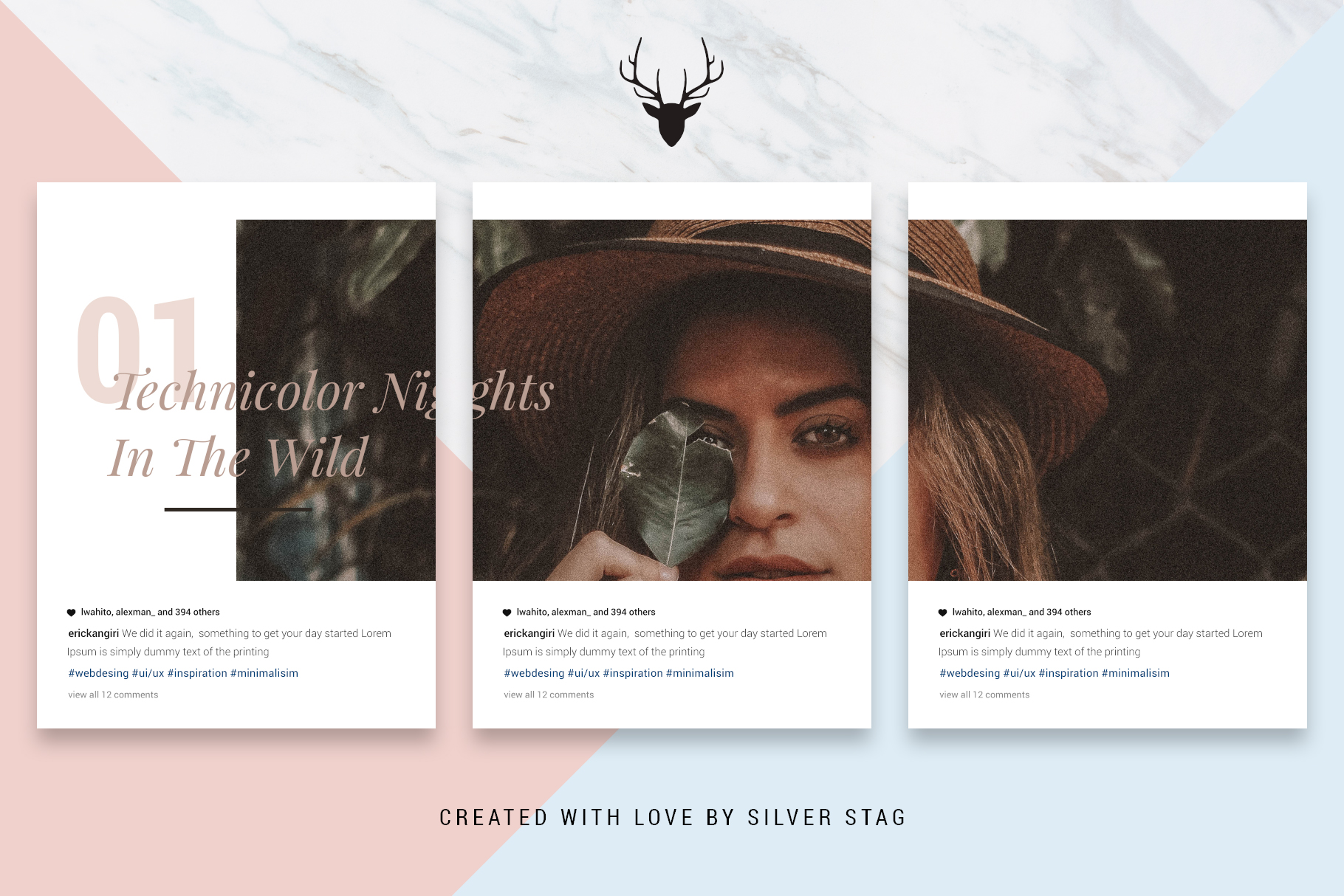 #InstaGrid 1.0 - Instagram Canva Puzzle Template example image 6