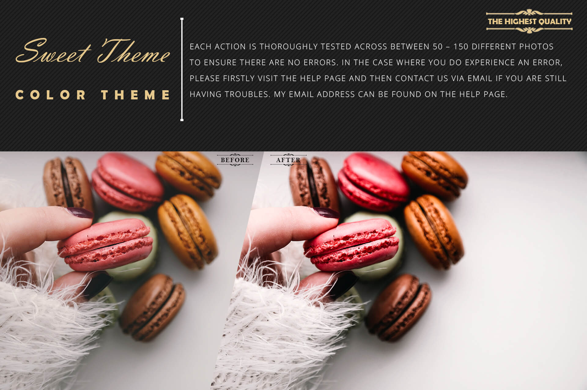 Neo Sweet Color Grading photoshop actions example image 6