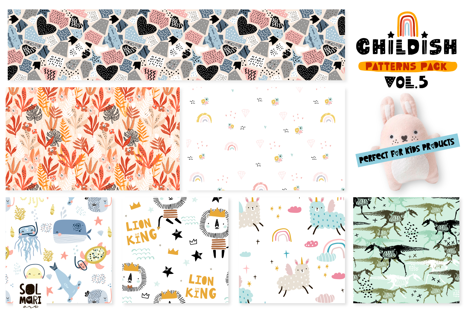 Childish patterns pack vol. 5 example image 8