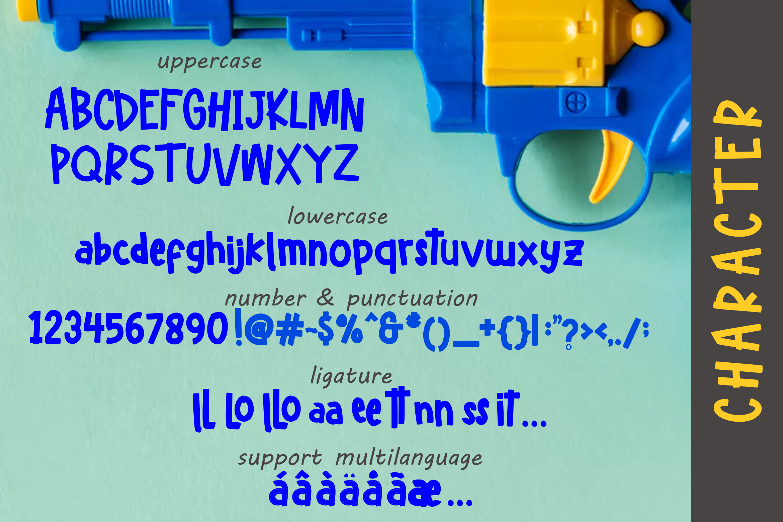 Hello freeday 2 Style font - free Easter Splash example image 5