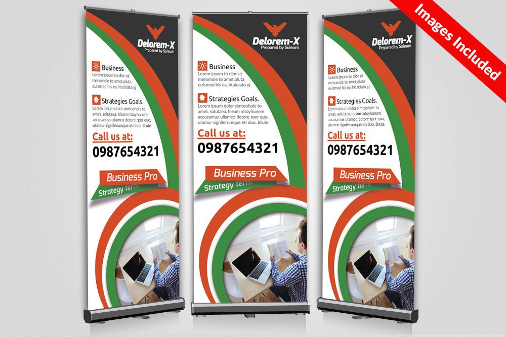 Business Roll Up Banners Templates example image 1