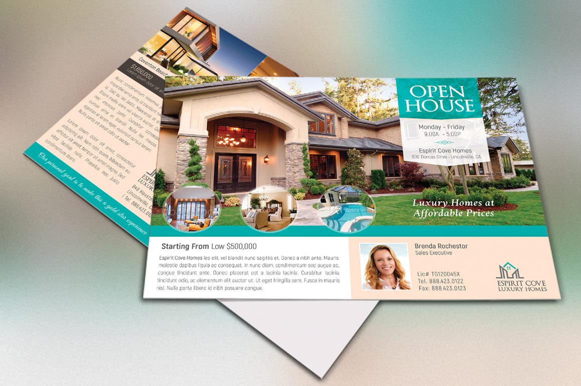 Real Estate EDDM Postcard Template example image 1