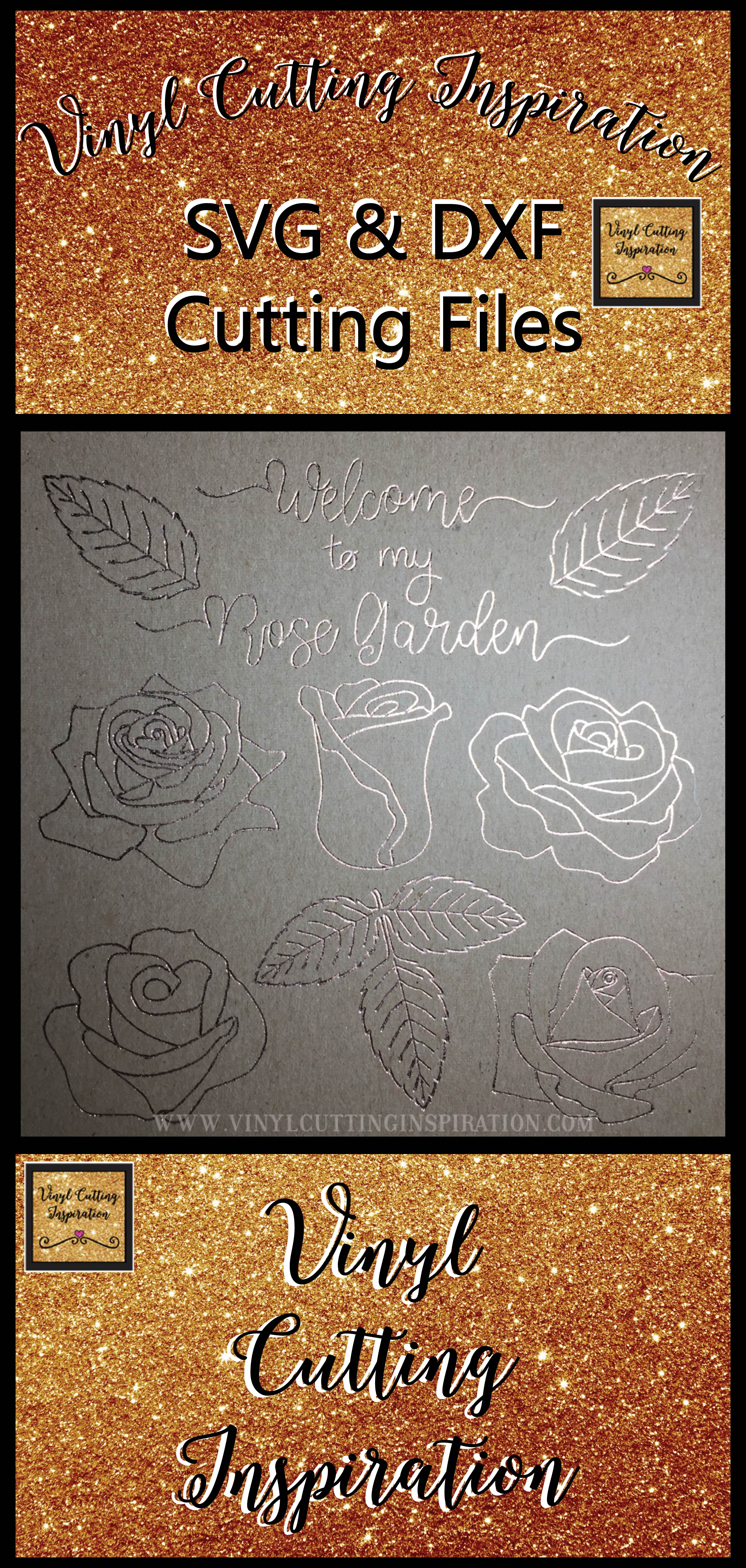 Foil Quill Designs Foil Quill Sketch Rose Svg Foiling SVG example image 5