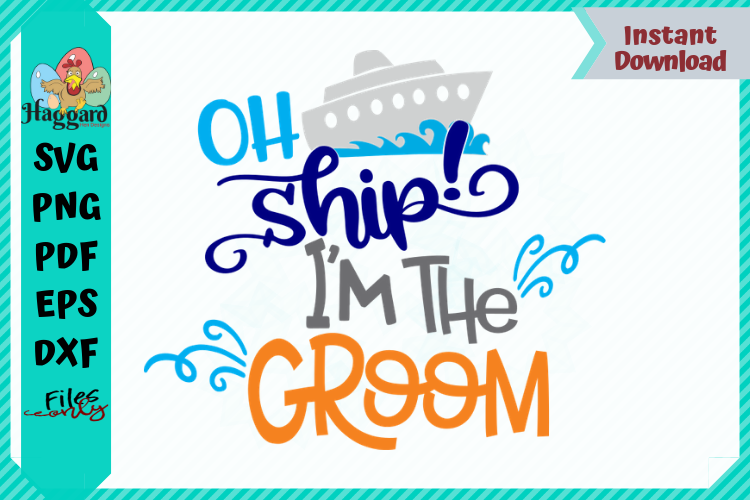 Oh Ship Bride and Groom Bundle example image 3