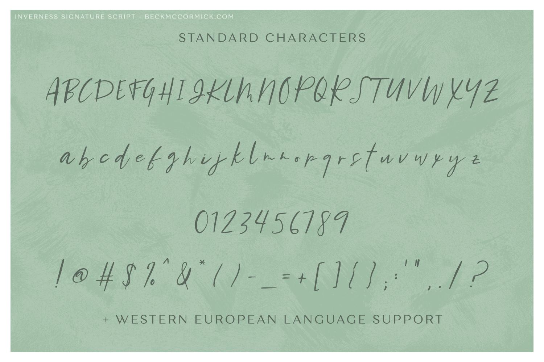 Inverness Signature Script example image 10
