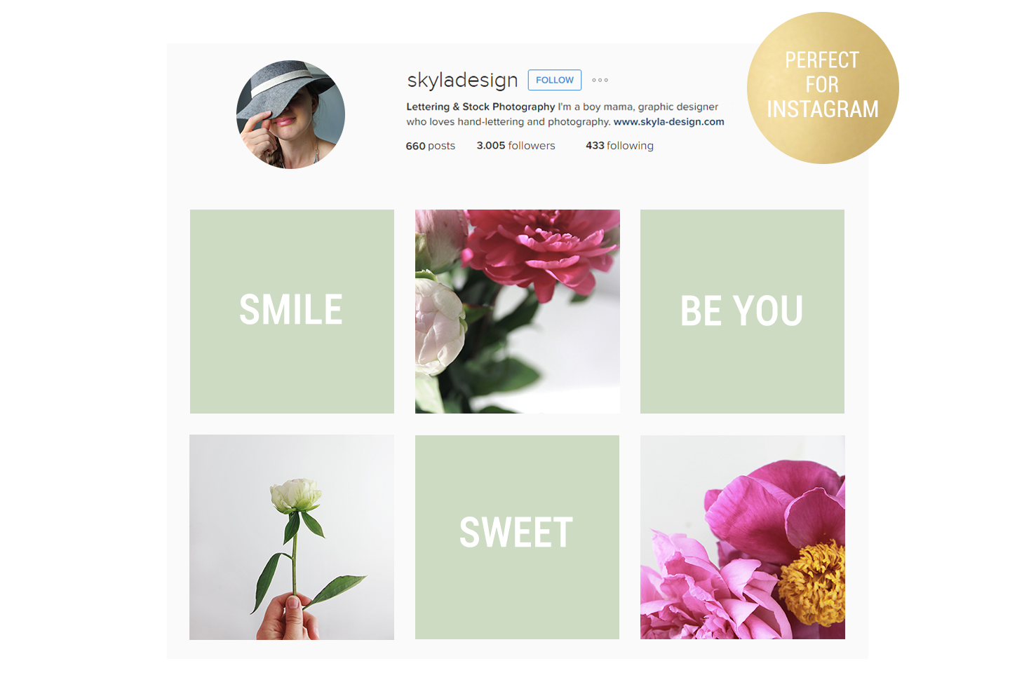 20 Styled stock pink peonies, floral images & mockups example image 3