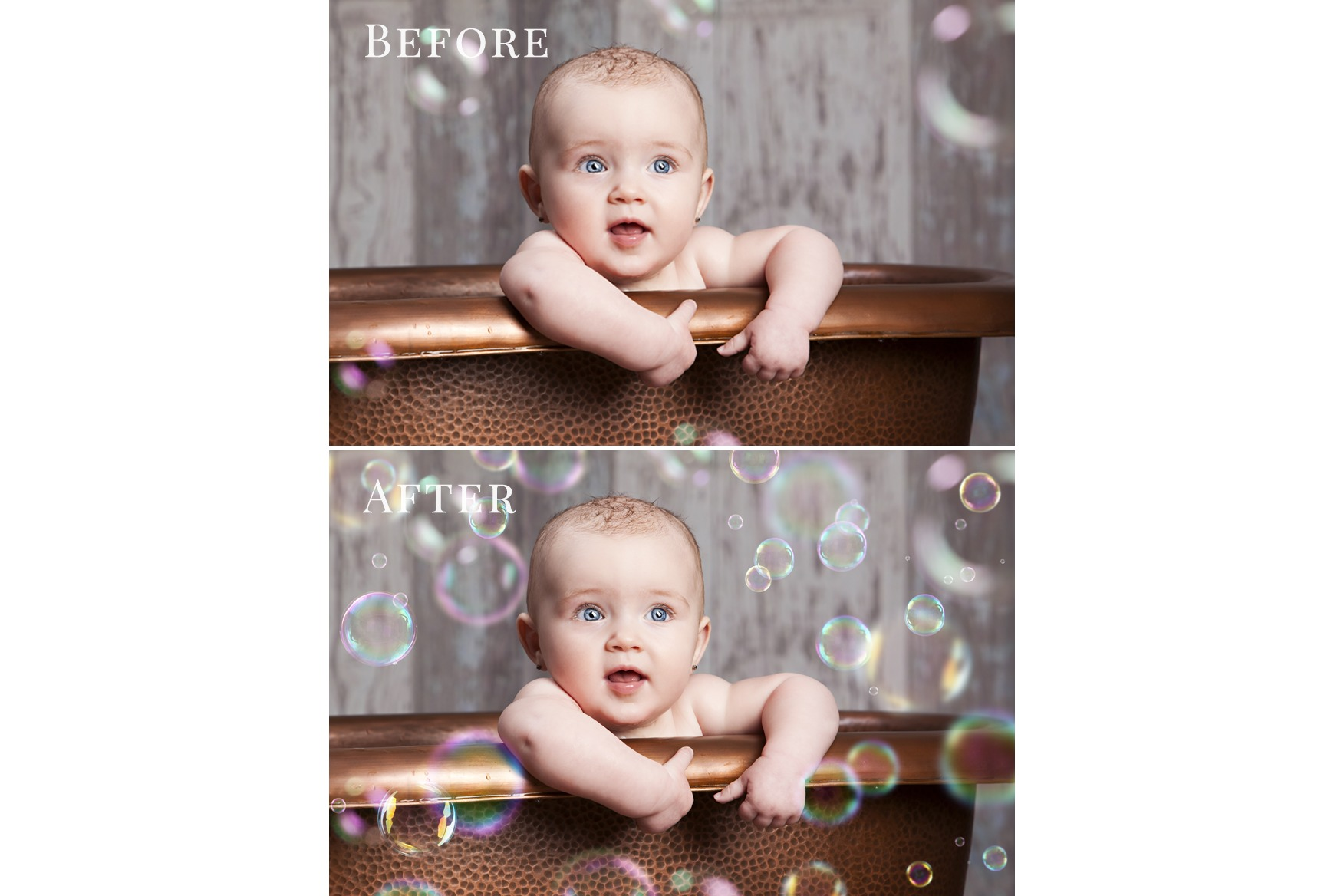 Give Me Bath - bubbles overlays example image 2