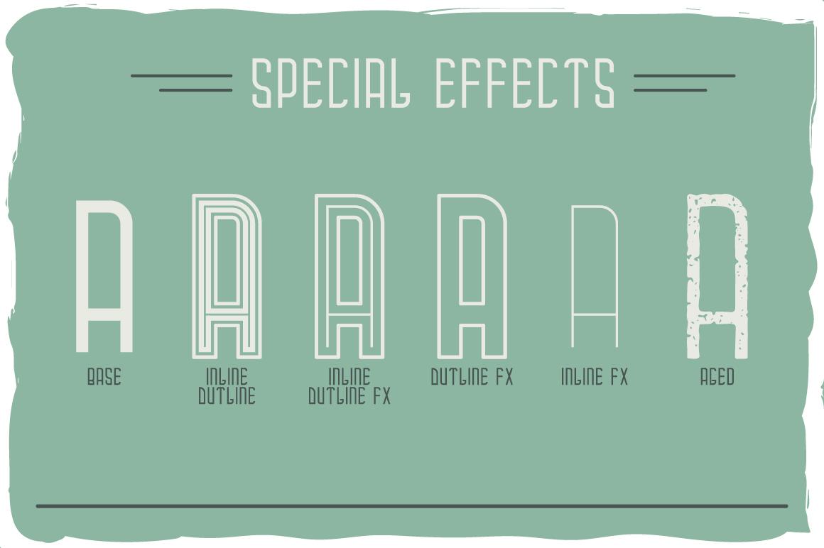 Campus typeface example image 3