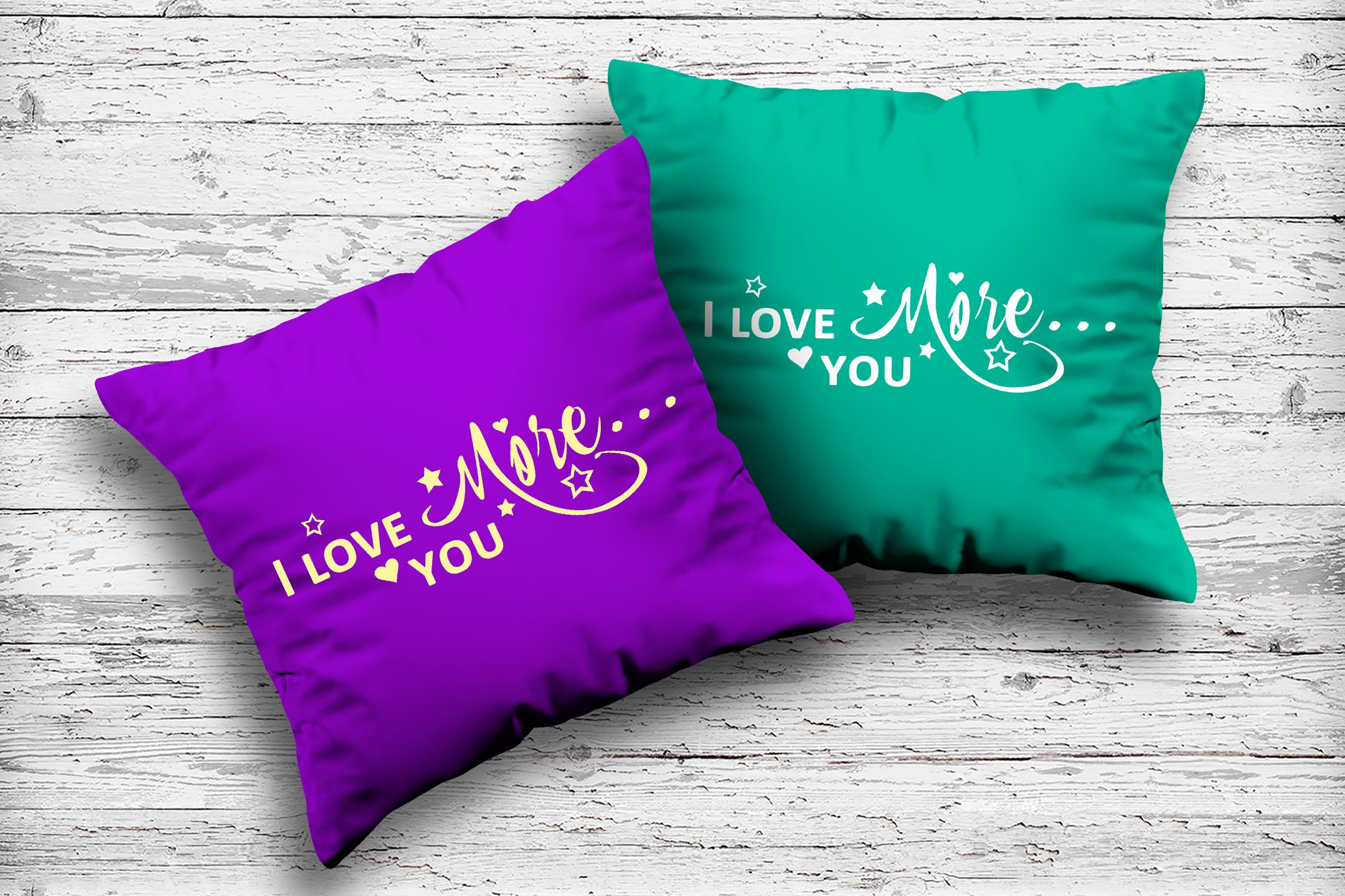 I Love you more svg Valentine svg Love heart svg example image 6
