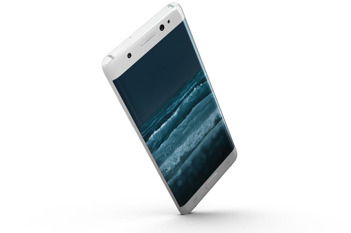 Samsung Galaxy Note 7 Gravity Mockup example image 15