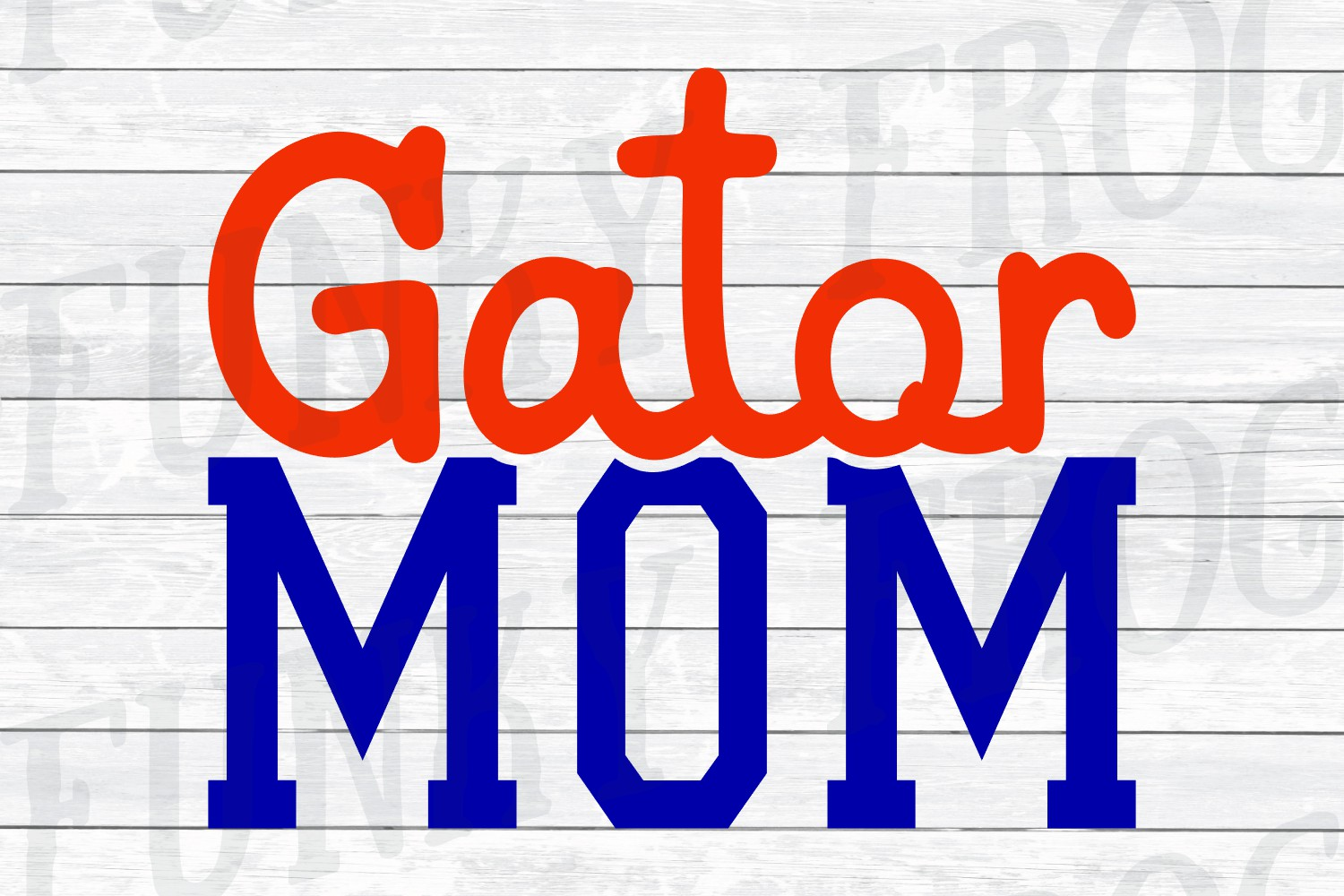 Gator Dad and Gator Mom SVG Cut File for Crafters example image 6