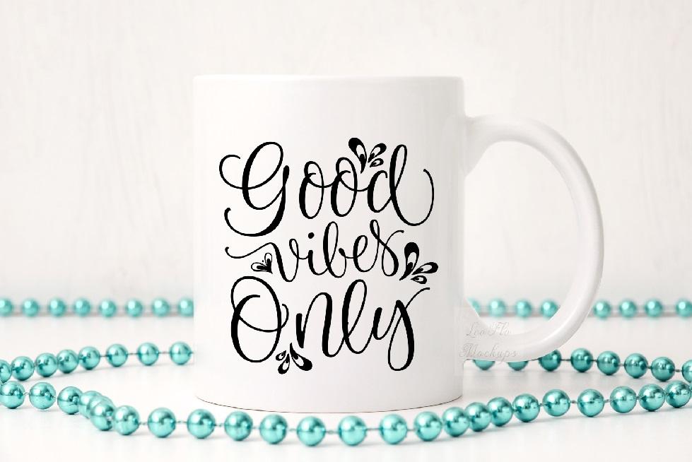 Party white coffee mug mock up sublimation 11oz cup mockup example image 3