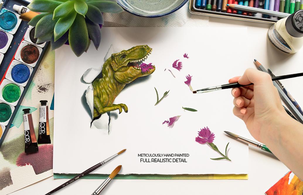 Dinosaurs Misbehaving- RoarsomeT-Rex example image 6