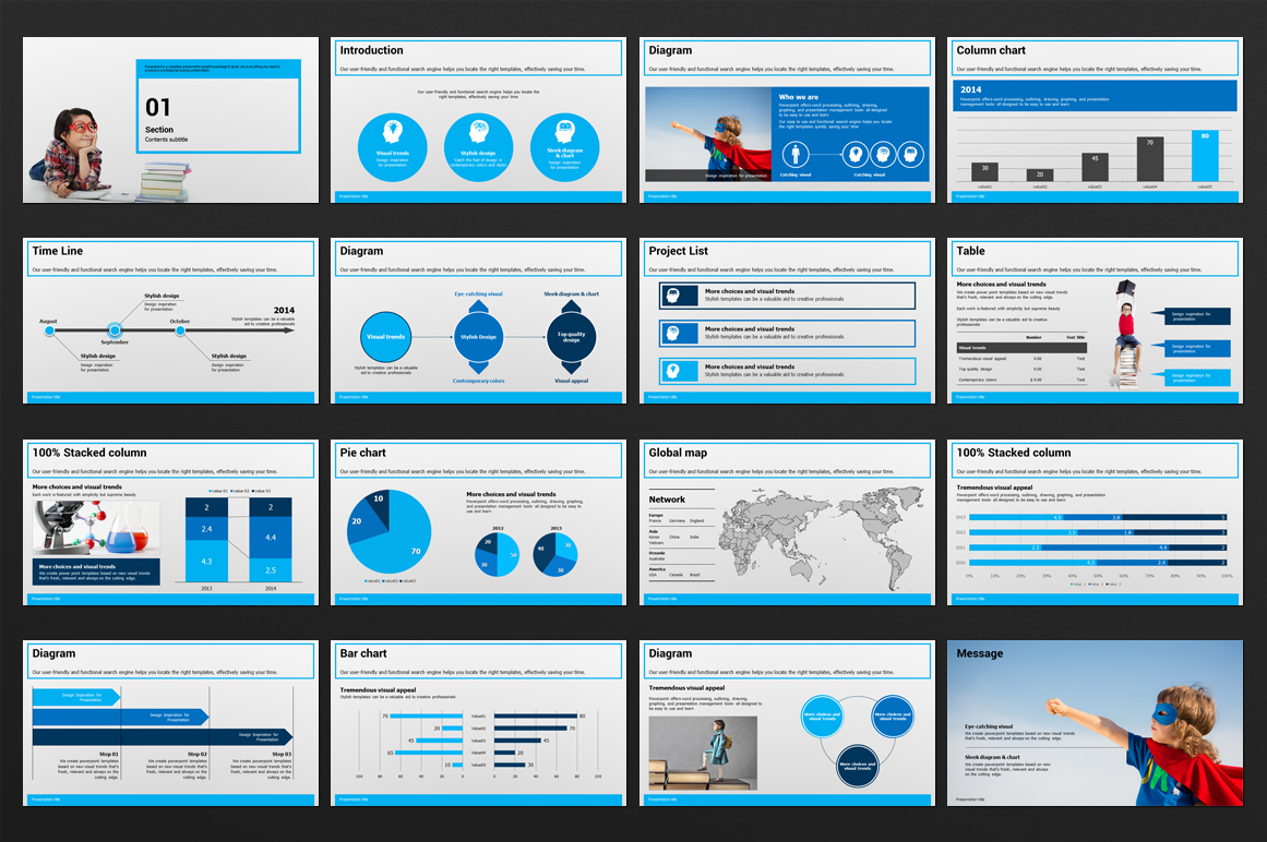 Education PowerPoint Template example image 2