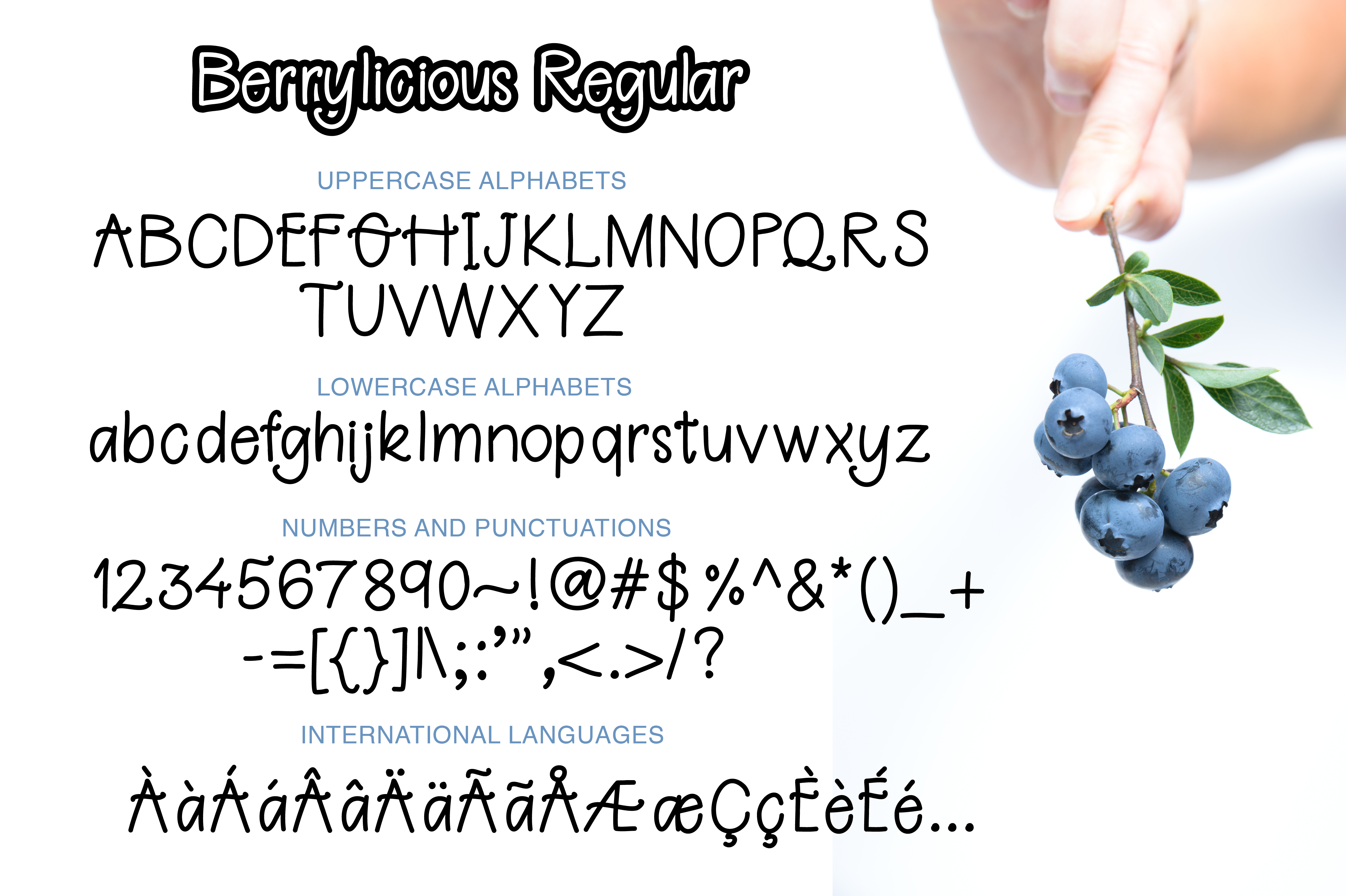 Berrylicious Font example image 7