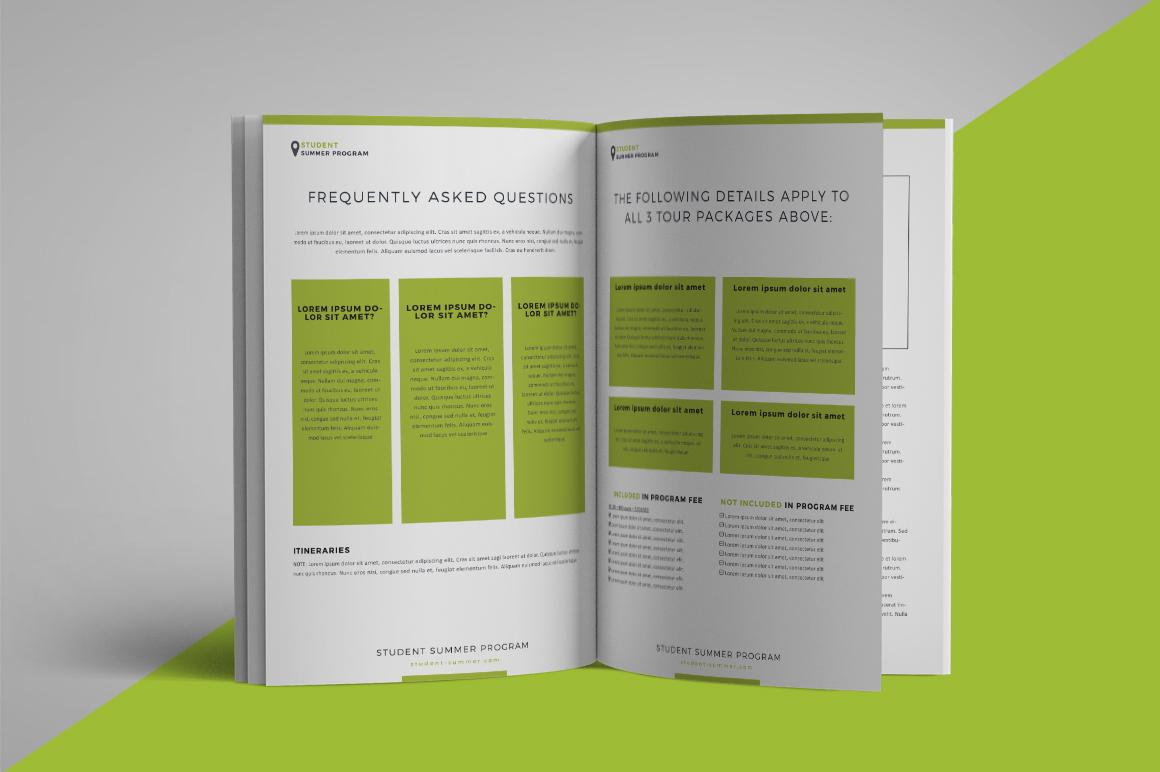 School program brochure example image 2