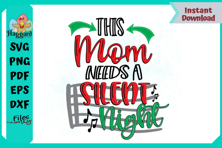 This Mom Needs a Silent Night example image 1