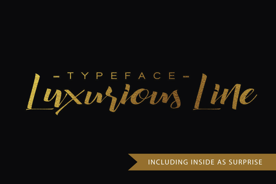 Glamorous Silhouette Font example image 9
