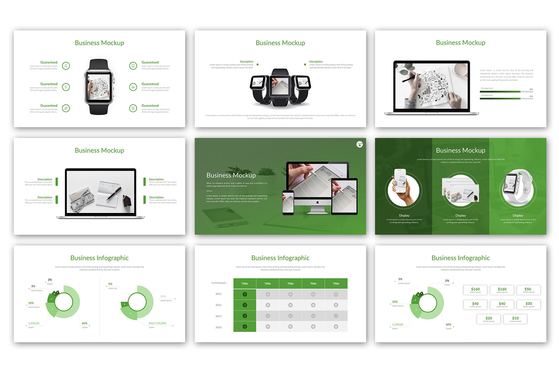 Modern Business Presentation Template example image 9