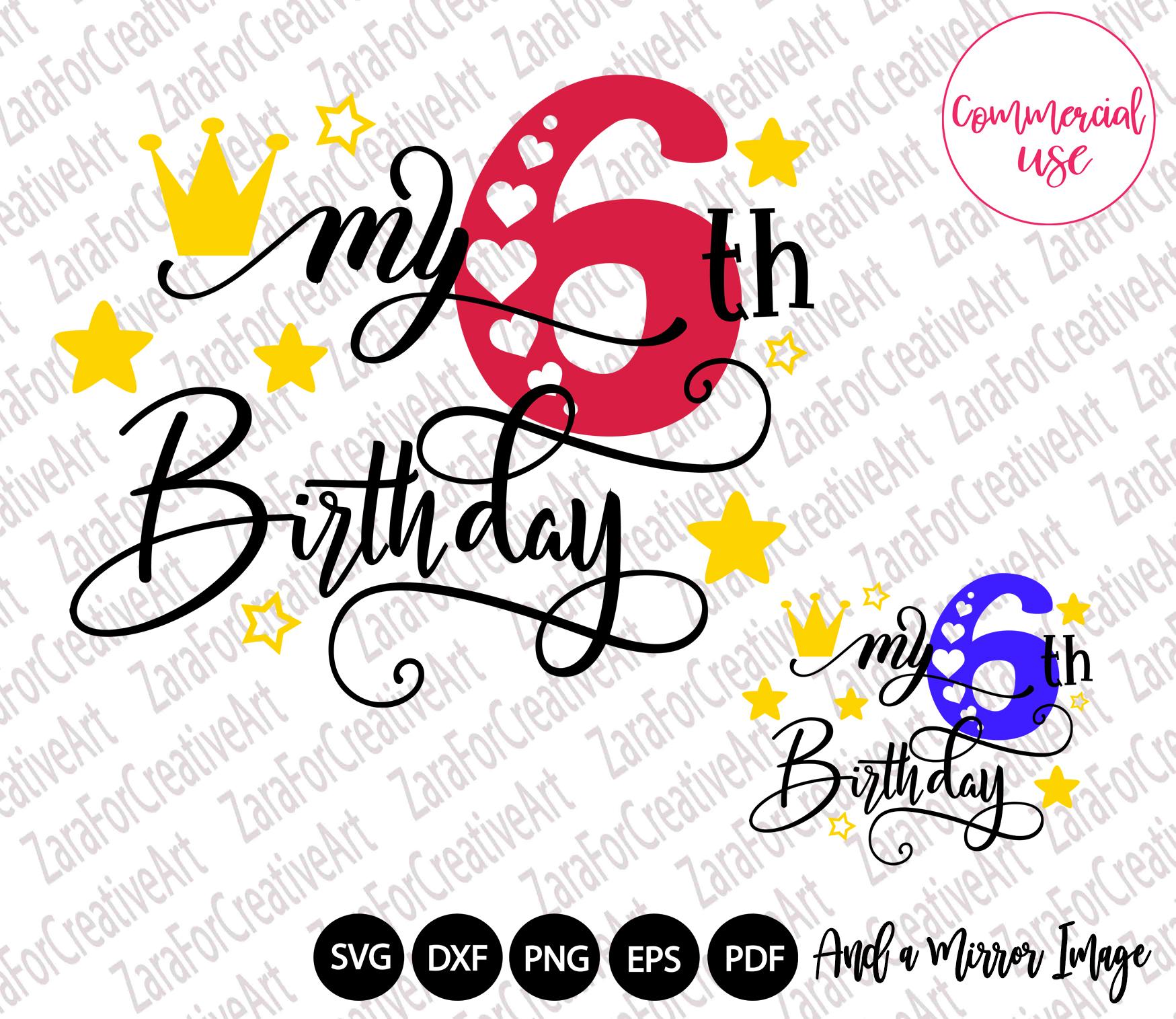 my birthday svg bundle, birthday girl bundle birthday boy , example image 7