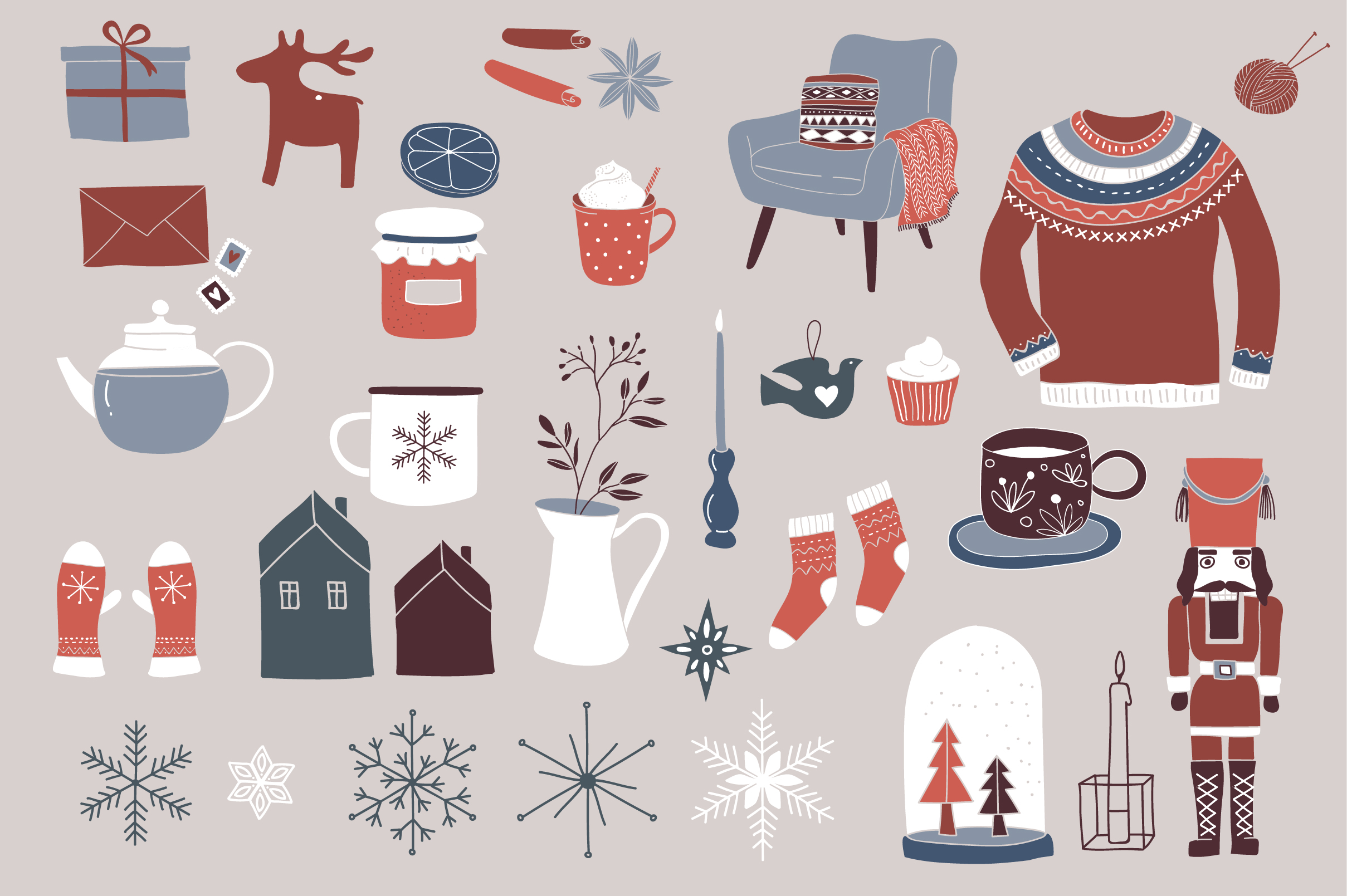 Nordic Christmas - winter collection example image 5
