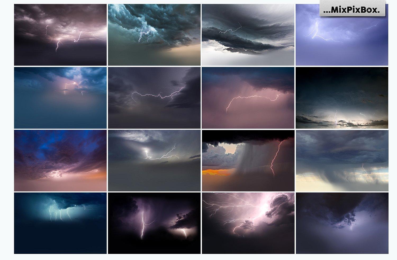 Lightning Photo Overlays example image 4