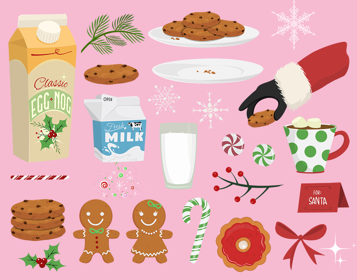 Holiday Goodies Cookies & Milk example image 2
