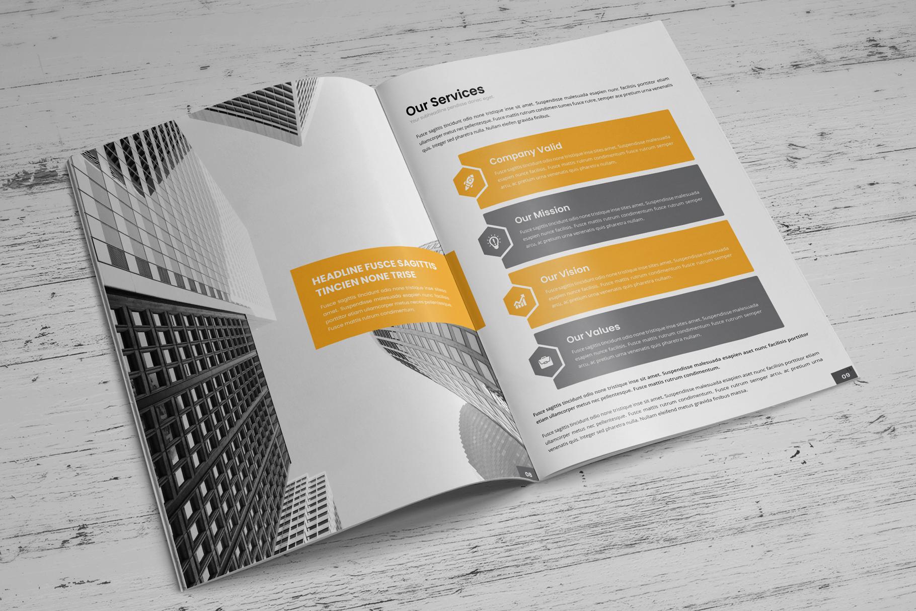 Company Profile Brochure v10 example image 6