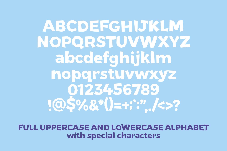 Papier Couper - A fun papercut style font example image 2