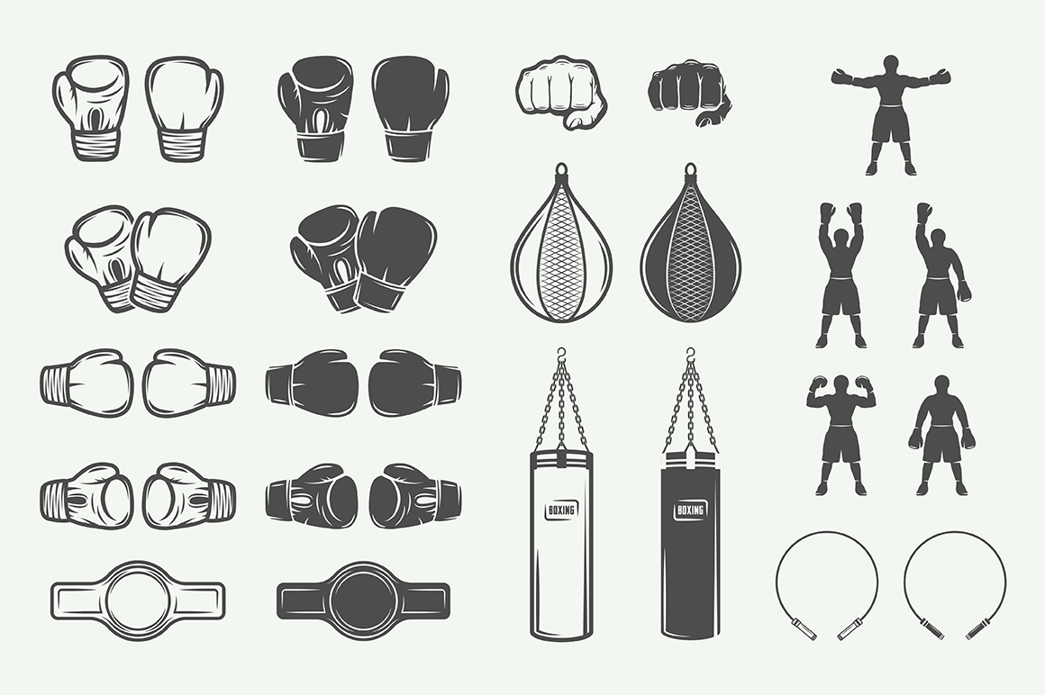 Vintage Boxing Bundle example image 4
