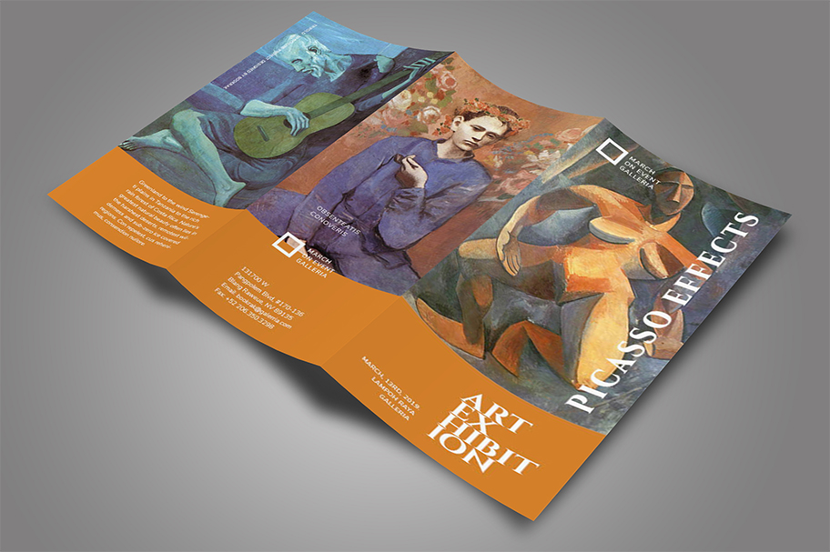 Art Exhibition Brochure example image 3